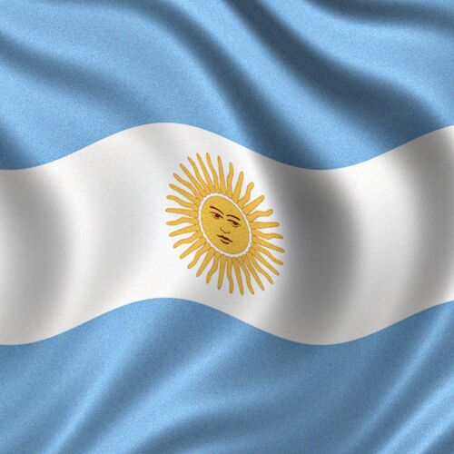Wave 3x2 Feet Super-Poly Argentina FLAG WorldCup Country football Banner 96x64cm