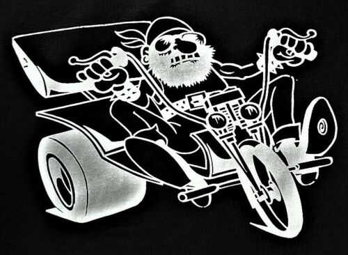 T shirt Triker /& Biker Motif En Noir Modèle Trike