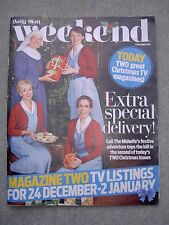Weekend Mag: Call The Midwife, Dr Who, Dawn French, Emilia Fox, Ricky Tomlinson