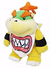 "Authentic  9""  Bowser Jr. Stuffed Plush LB 1424  Super Mario All Star Series"