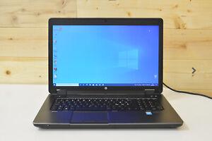 HP ZBook 17 G2 Core i7-4810MQ RAM 32Gb, 512Gb SSD +1Tb, NVidia 4Gb Laptop L1006B