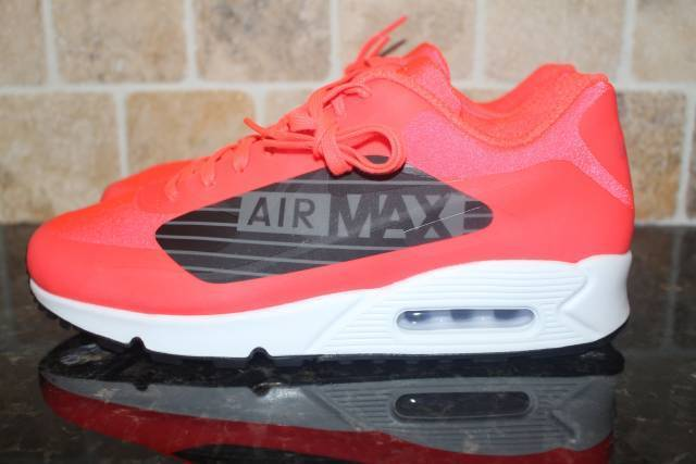 NIKE AIR MAX 90 NS GPX MEN SIZE 10.0 BRIGHT CRIMSON COMFORTABLE LIGHTWEIGHT