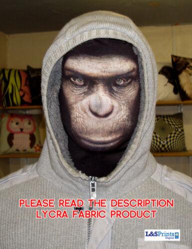Spaventoso Halloween Pieno Maschera Faccia Scimmia Raccapricciante Costume tessuto Stag Do
