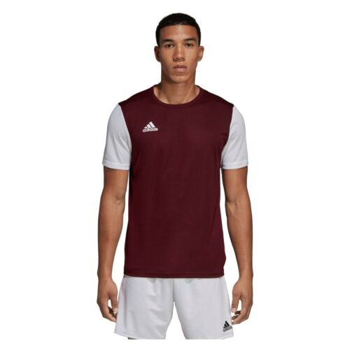 Adidas T Shirt Mens Estro 19 Climalite Short Sleeve Top Football Size S M L XL