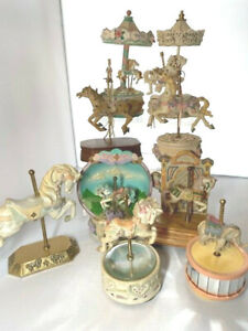 Willits Designs Carousel Horse music box