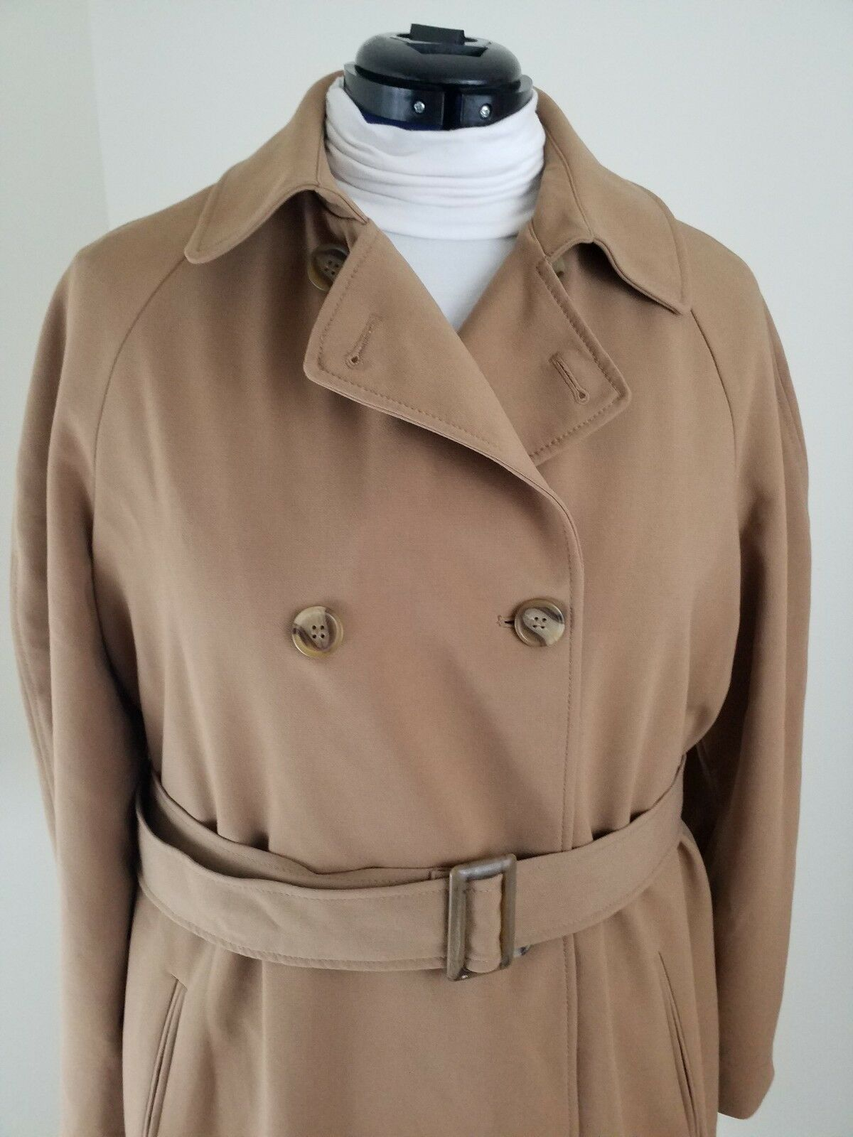 Charter Club  WomanPlus Size 16WSalty Nut Nut Nut Long Raincoat Trench NWT  169.50 9e76f8