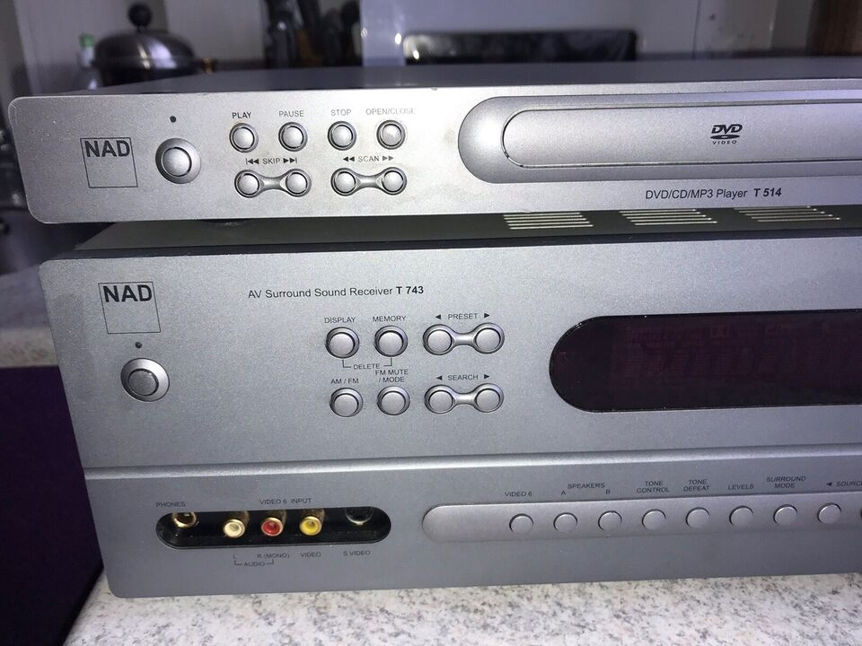 Andet, Nad, T 514 DVD/CD/MP3 Player