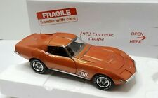 1972 Corvette Coupe Ontario Orange 1/24 scale The Danbury Mint & GM Official Lic