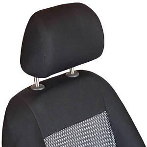 Schwarz-graue Dreiecke Sitzbezüge für FORD FIESTA Autositzbezug VORNE