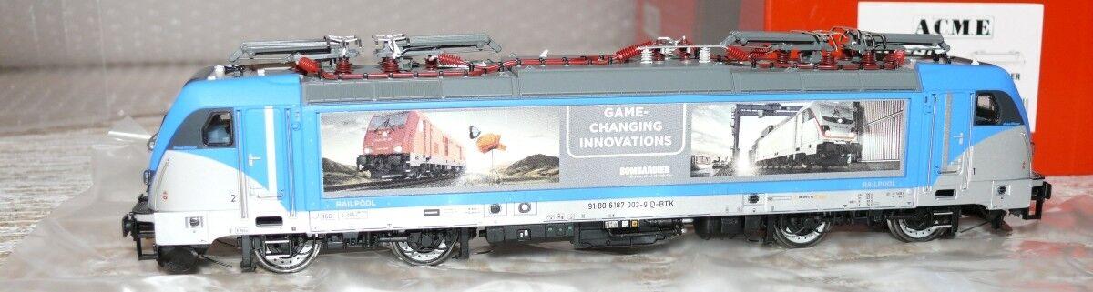 HS ACME 69460 E -Lok TRAXX BR 187 003 Bombardier Messfahrten Digital Sound D  c