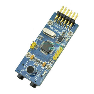 VS1003B-MP3-Board-VS1003-WAV-WMA-Audio-Codec-Decode-Encode-Development-Module