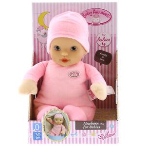 NEW Zapf Baby Annabell 30cm Newborn For Babies Soft Plush ...