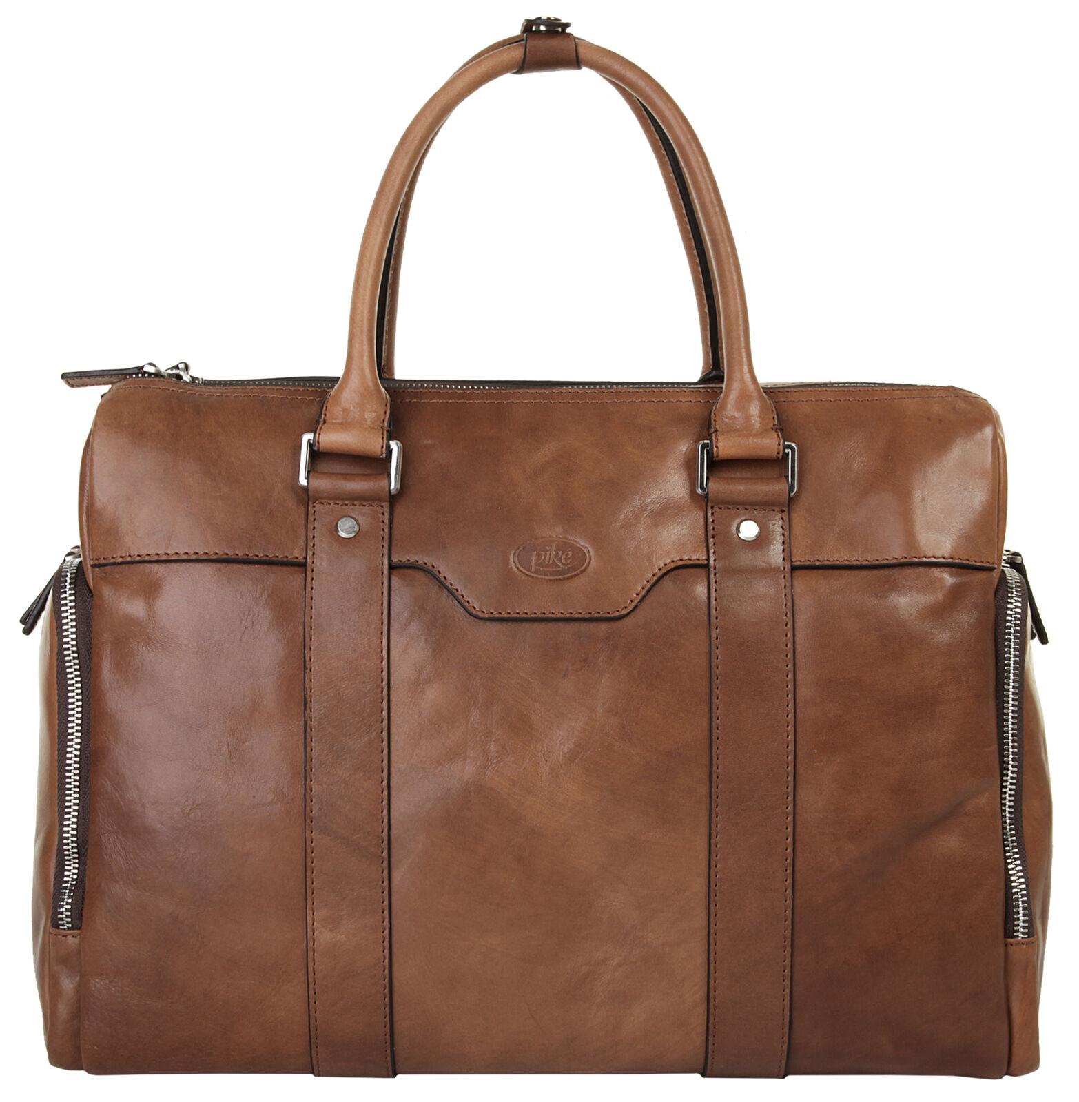 Piké Aktentasche echt Leder - NEU - Unisex - Erwachsene, Herren, Damen   Elegant und feierlich    Praktisch Und Wirtschaftlich    Modernes Design