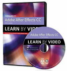 Adobe After Effects CC Learn by Video (2014 Release) by Jeff Foster (DVD-ROM, 2015)