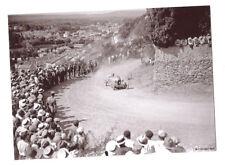 automobile BUGATTI en course :  colline St EUTROPE à ORANGE