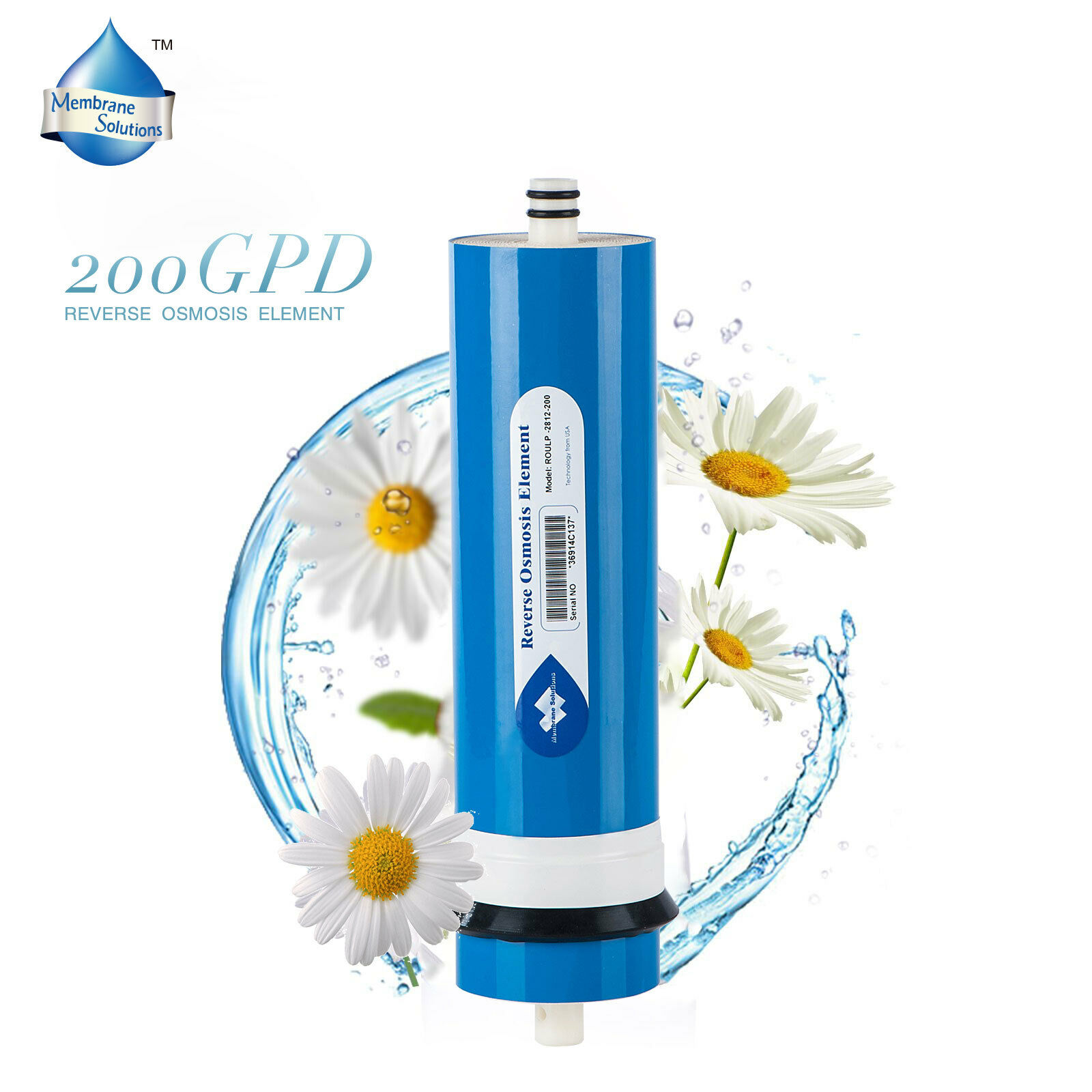 RO Reverse Osmosis Water Filter System 200 GPD Aquarium reef Portable DI Water
