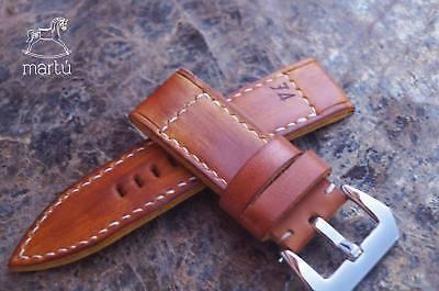 74 homage watch strap Handmade, beautiful patina, custom size available