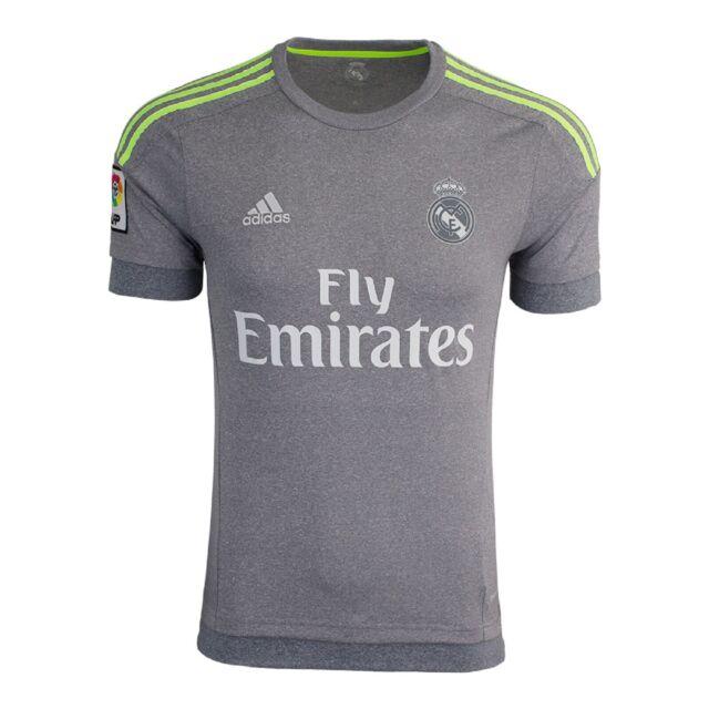 super popular 35260 c552d Real Madrid Official Football Gift Mens Away Kit Short Sleeve Shirt