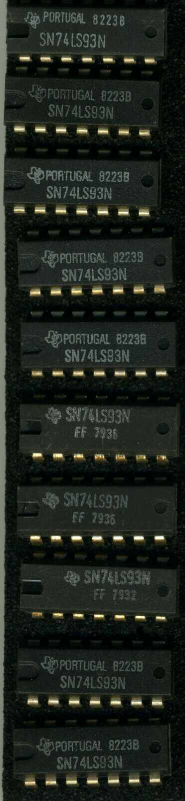 10PCS 74LS93 Ic 4-BIT Binary Counter 14-DIP Original T. I. Neu
