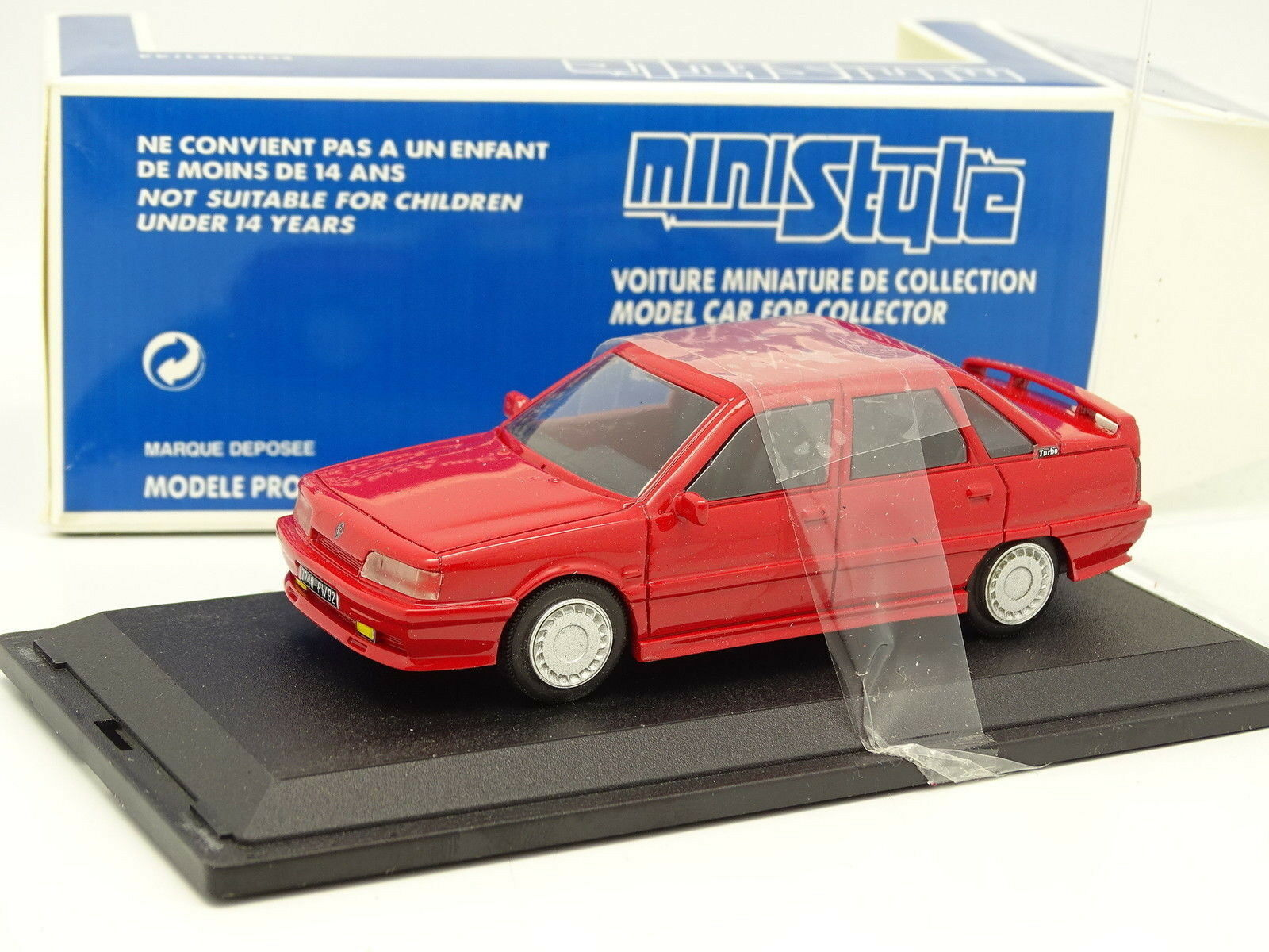 Mini Style Resin 1 43 - Renault 21 2l Turbo Red