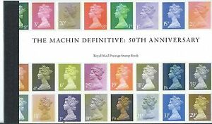 GREAT-BRITAIN-2017-THE-MACHIN-DEFINITVE-PRESTIGE-BOOK-UNMOUNTED-MINT