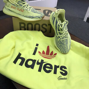 check out 4e9d0 50f6f Image is loading Shirt-Match-Yeezy-Frozen-Yellow-Beluga-Boost-I-