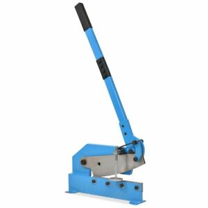 vidaXL-Hand-Lever-Shear-300mm-Blue-Rebar-Metal-Cutter-Manual-Shearing-Machine