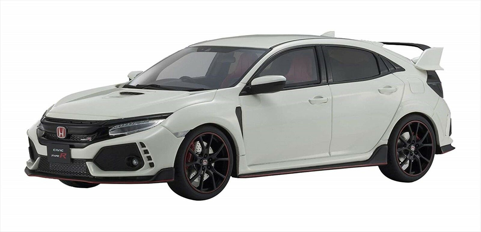Kyosho KSR18029W SAMURAI 1 18 Honda Civic Type R Championship White From Japan