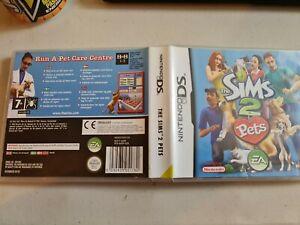 Los Sims 2 Mascotas * NINTENDO DS Juego/LITE/DSi. 100% Original