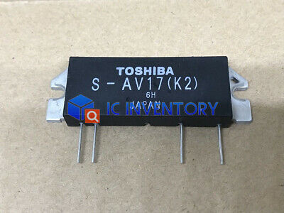 1PCS S-AV17 TOSHIBA MODULE,RF POWER AMPLIFIER MODULEHAM K2