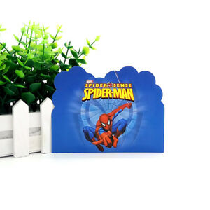 Image Is Loading 12pcs Spider Man Theme Invitation Card For Kids