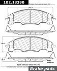 Disc Brake Pad-C-TEK Metallic Brake Pads Front Centric fits 08-11 Ford Focus