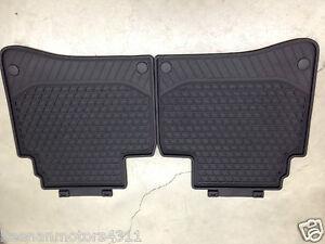 Rear Genuine  All Black 22268077059g33 Season Floor Mat