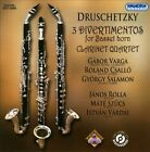 Druschetzky: 3 Divertimentos for Basset Horn; Clarinet Quartet (CD, Dec-2011, Hungaroton)