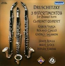 Druschetzky: Divertimentos for Basset Horn, Clarinet Quartet, New Music