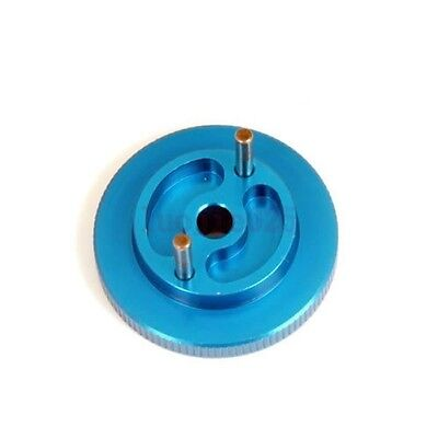 122006 Blue HSP Lightweight Flywheel For RC 1/10 Nitro Car Truck 02068 Upgrade
