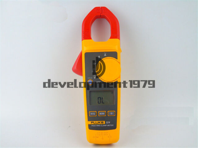 Fluke 324 rms clamp meter