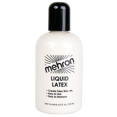 Mehron Liquid Latex, Special FX Make Up, Liquid Fake Skin, (Please Select Size )