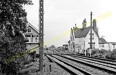 1 Barnetby to Alceby and Habrough Lines. Brocklesby Railway Station Photo