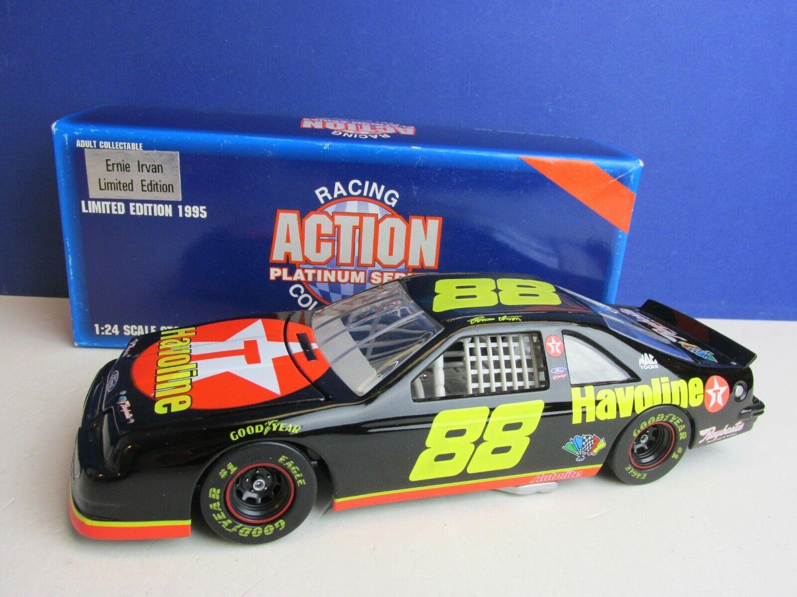 RACING ACTION PLATINUM SERIES ernie irvan 88 NASCAR MODEL CAR DIECAST 1 24 05i