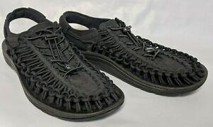 KEEN-Outdoor-1014097-Men-039-s-UNEEK-M-Black-Nylon-Cord-Trail-Hiking-Sandals-Shoes