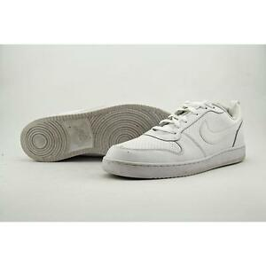 uk availability bd625 0f330 Nike Court Borough Low Triple White Men Shoes SNEAKERS Trainers ...