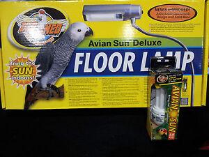 Avian sun compact 50 uv bulb zoo meds floor lamp parrot image is loading avian sun compact 5 0 uv bulb amp mozeypictures Gallery