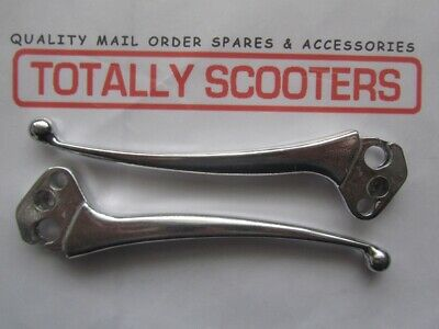 Brake /& clutch levers pair in alloy small ball ends for Lambretta LI series 3