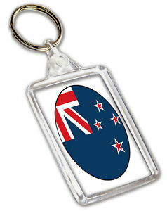 Image Is Loading New Zealand Flag Keyring Birthday Gift Christmas Stocking