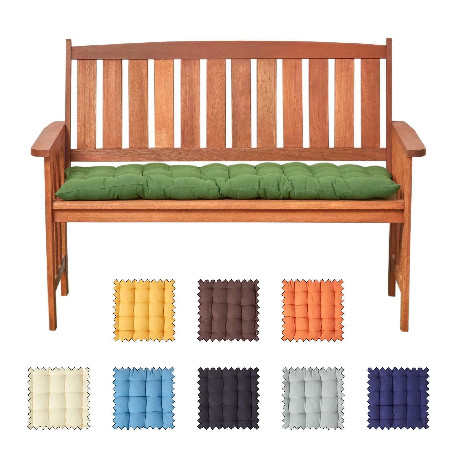Picture of: 2 3 Seater Bench Cushion Seat Pad For Kitchen Dining Bench Indoor Outdoor Ebay