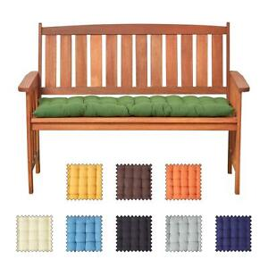 2 3 Seater Bench Cushion Seat Pad For Kitchen Dining Bench Indoor Outdoor Ebay