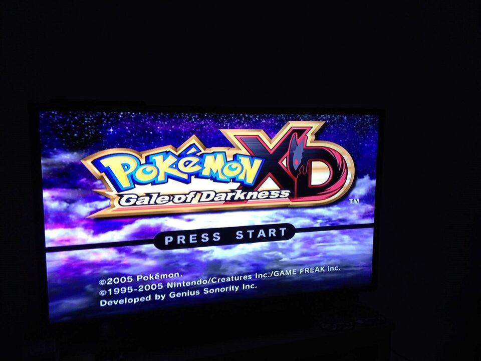 Pokemon XD Gale of Darkness, Gamecube