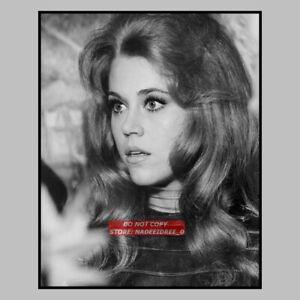 Actors John Phillip Lawand Jane Fonda in a scene from the