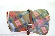 VIVIENNE WESTWOOD WINTER TARTAN MEDIUM DOG COAT WATERPROOF CLOTHES VERY RARE BN